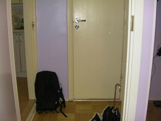 Baltic Apartments : ingresso