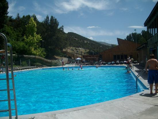 Ririe, ID: Summer pool, Heise Hot Springs