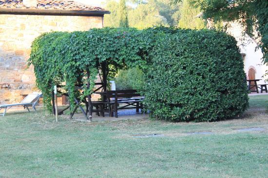 Borgo San Benedetto: bij zwembad