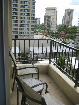 A couple of chairs on balcony picture of wyndham royal garden at waikiki honolulu tripadvisor Wyndham royal garden at waikiki