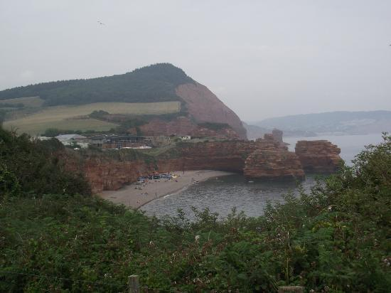 Ladram Bay Holiday Park: View of the Beach