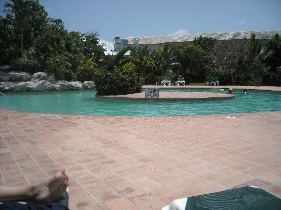Ramada Plaza Fort Lauderdale: rear of pool