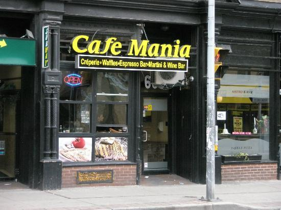 Street view of Cafe Mania