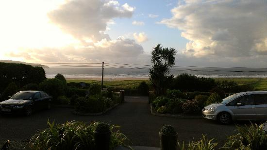 The Shores Country House: View from room at sunset