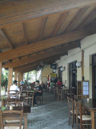 Garden Village San Marino: esterno ristorante Garden