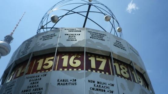 Cicerone Berlino: Orologio del Mondo