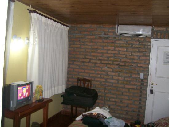 La Sorgente Hotel Posada: techo de madera vetusta