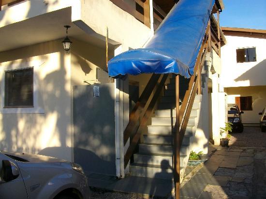Pousada Da Charuta: Escada de acesso aos quartos