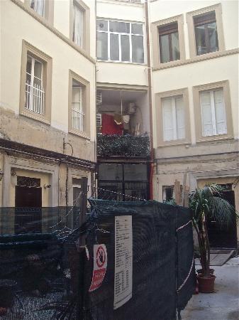 The building site which trades as B&B Corso Italia