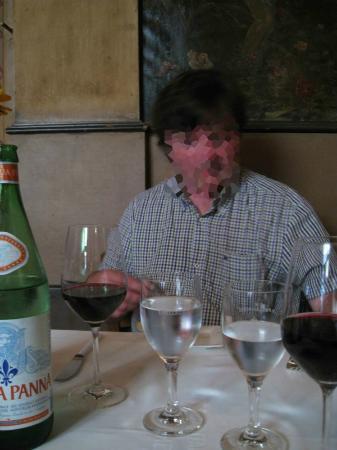 Osteria Italiana: Jason at AH's seat