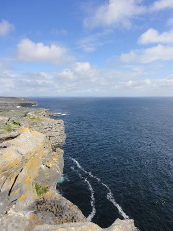 Inishmore, Ireland: View from the cliff's edge
