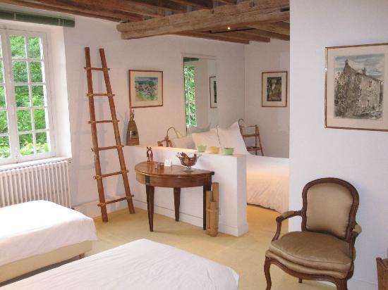 Le Moulin de Saint Martin: family room