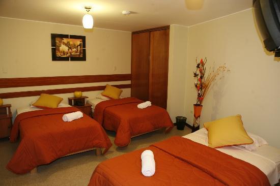 Miraflores Suites Centro: Habitacion