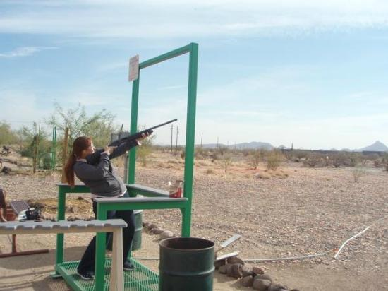 Carefree Resort & Conference Center: Close by shooting range