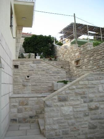 Hotel Villa Telenta: Set of stairs