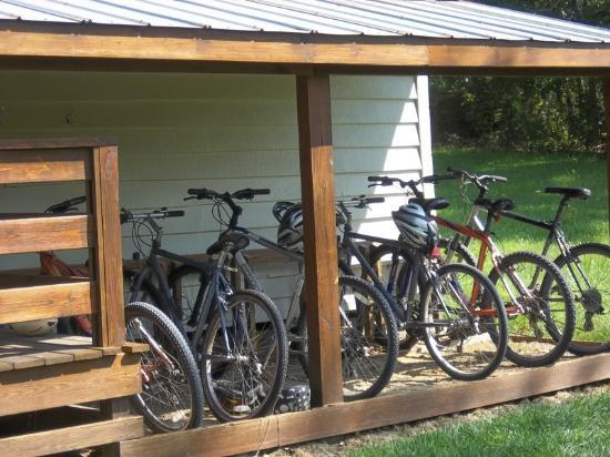 Fort Lewis Lodge: free bikes to use