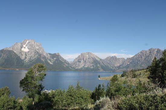 Grand Teton Lodge Company Lake Cruise : View from top of Elk Island