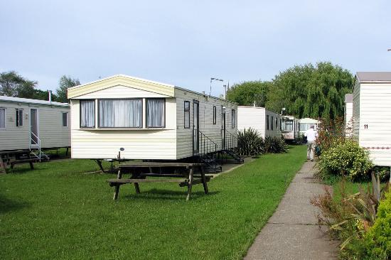 Fort Holiday Park: Typical Caravans