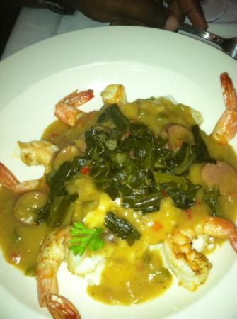 Saphron Restaurant at the Old Field  House: gumbo