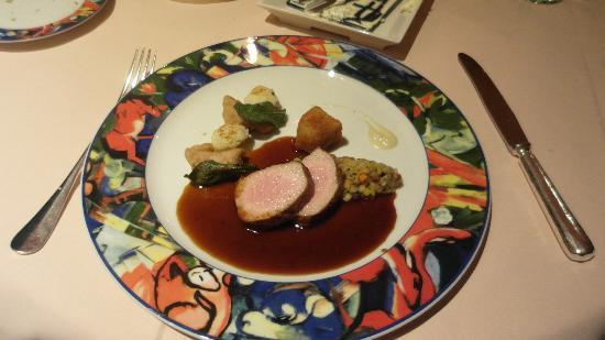 Hotel-Restaurant Alpenblick: Main course