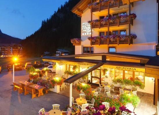 Hotel Villa Eden: La terrazza cioccolateria