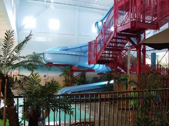 Ramada Plaza Grand Rapids: Awesome slide