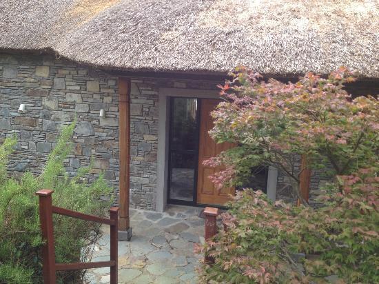 Sheen falls lodge garden cottage