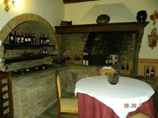 Relais Villa Baldelli: Bar area