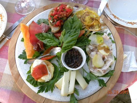 Relais Villa Baldelli: Appetizers