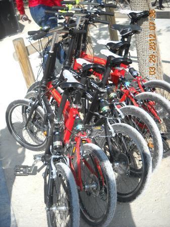 Paris Small Bike Tours: Preparadas
