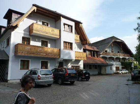 Gasthof Hotel Doktorwirt: parte laterale hotel