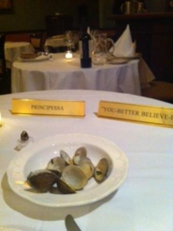 Antica Ristorante: Dubbed - The Princess of the Dining Room