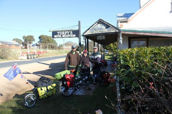 Braidwood, Australia: A warm welcome at Torpys