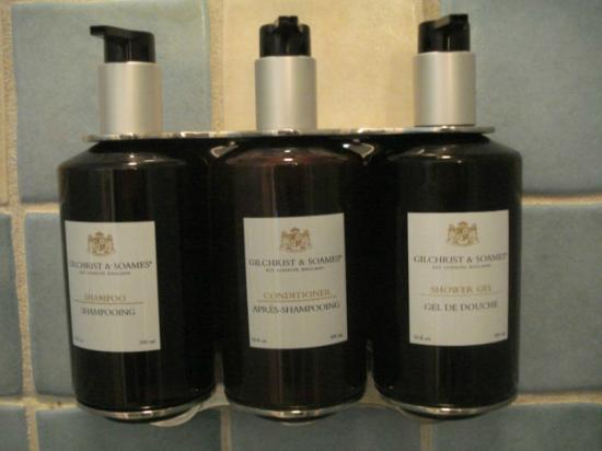 Embarc Blue Mountain: Quality bath products
