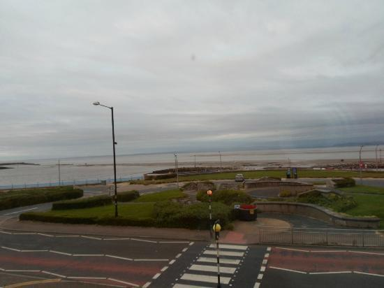 view from room morecambe bay