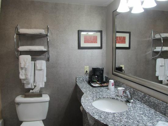 Comfort Suites: Modern, spacious, and clean!
