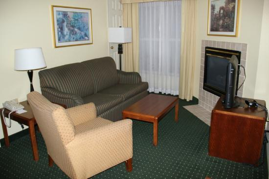 Sonesta ES Suites Minneapolis - St. Paul Airport: The living area