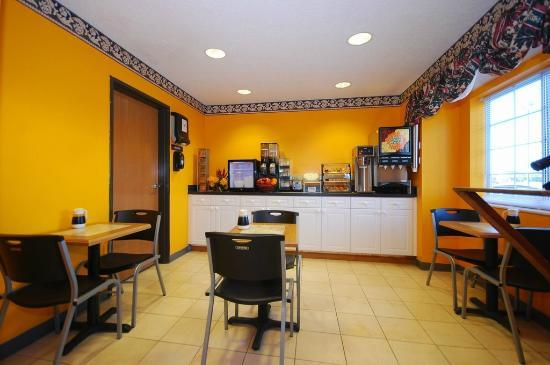 Americas Best Value Inn & Suites, Sunbury/Delaware,Ohio: breakfast area