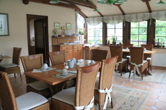 Breakfast room, Penzion Onyx, Cesky Krumlov