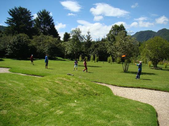 Hotel Bosques del Sol suites: Espace de jeux
