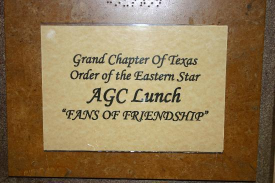 Holiday Inn Beaumont Plaza: Banquet for AGC