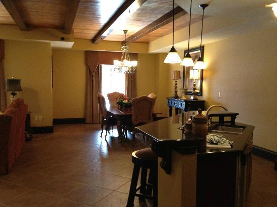 Presidential Suite Dining Room Picture Of Wyndham Bonnet Creek Resort Orlando Tripadvisor