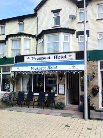 Prospect Hotel: Home sweet home...in Blackpool!!