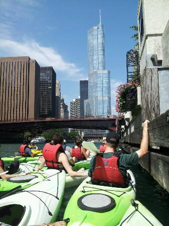 Urban Kayaks: Trump Tower view