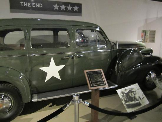 Patton Museum of Cavalry and Armor: The car he was in when he was hit
