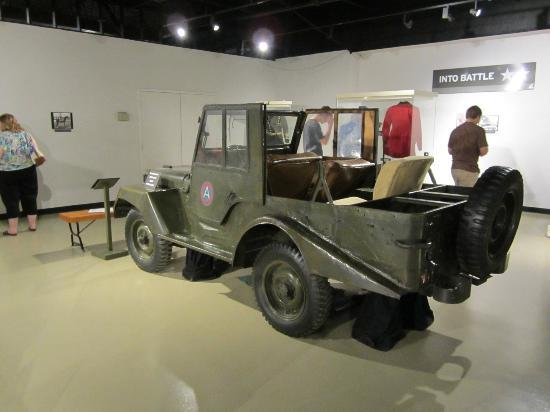 Patton Museum of Cavalry and Armor: Patton's Jeep