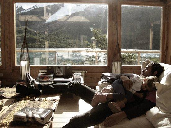 Aguas Arriba Lodge :                                     Living