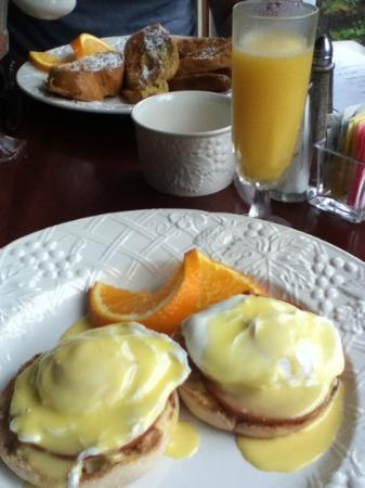 Hartwell House Inn: Perfect Hollandaise Sauce!