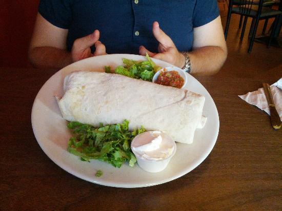 Alburritos: One Pound Burrito