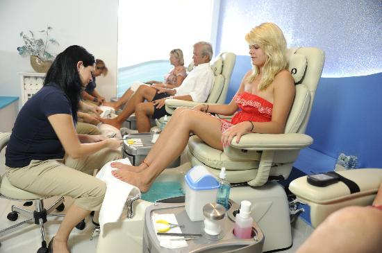 Aqua Nails & Spa : OUR PEDICURES AREA